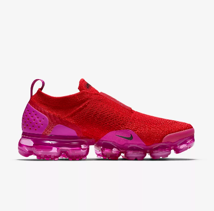Women Nike Air VaporMax FK Moc Wine Red Purple Shoes