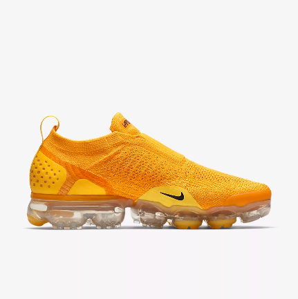 Women Nike Air VaporMax FK Moc Yellow Shoes