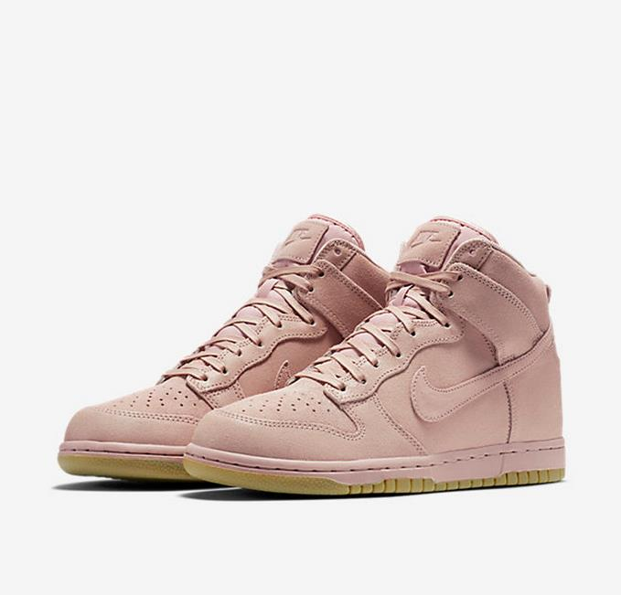 Women Nike Dunk High Prm SB Pink Shoes