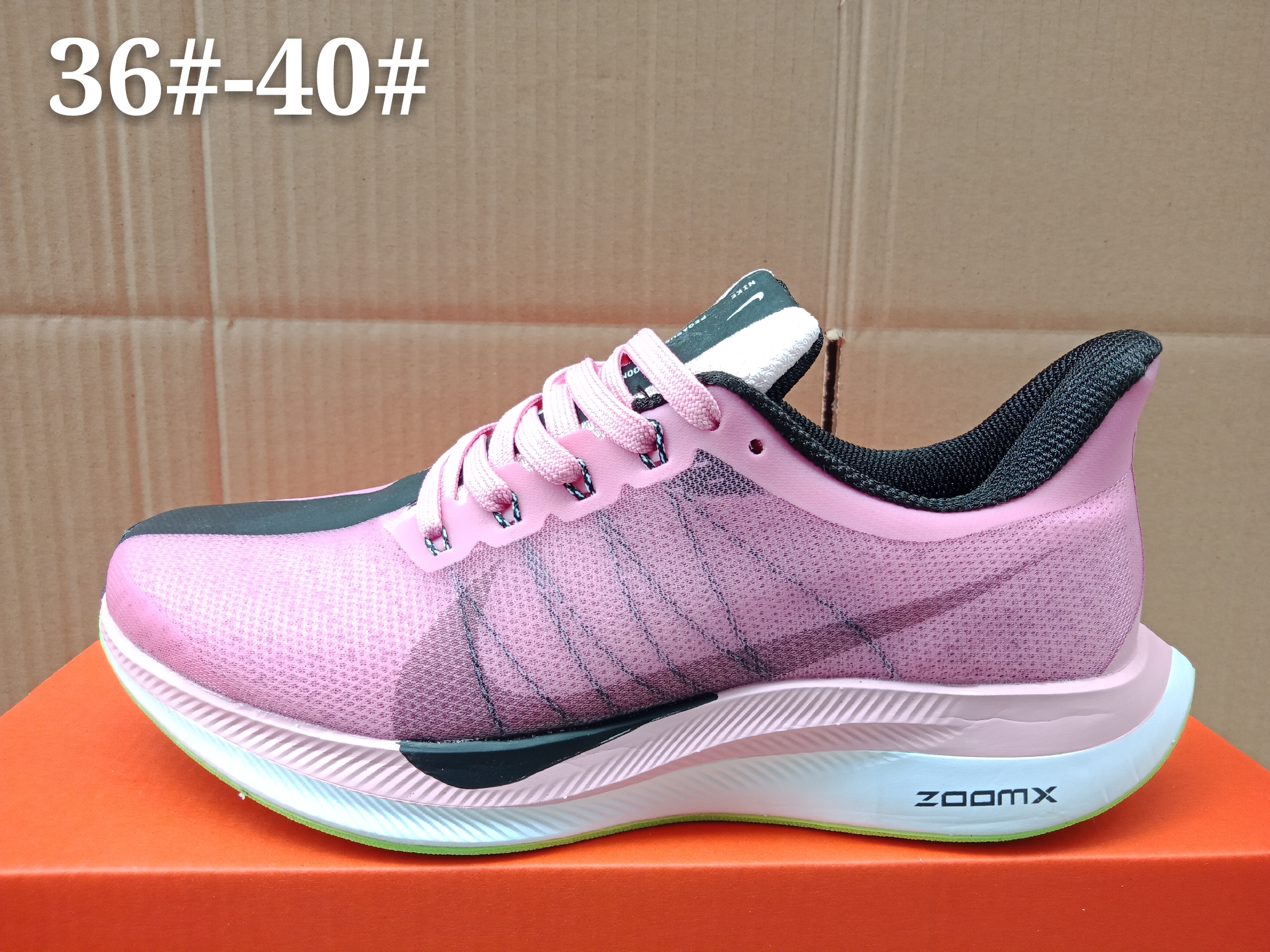 Women Nike Zoom Pegasus 35X Purple Black Green Shoes