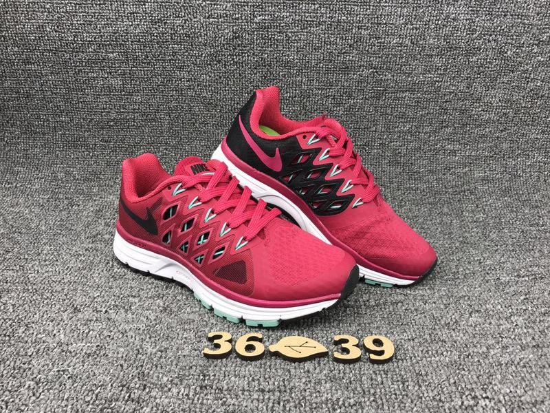 Women Nike Zoom Vomero 9 Peach Red Black Shoes