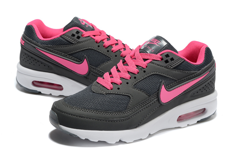 Women 2016 Nike Air Max 85 Black Pink White Shoes