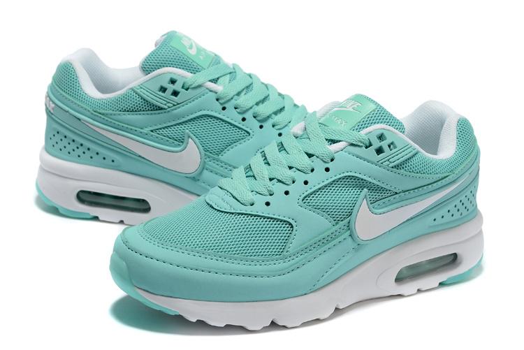 Women 2016 Nike Air Max 85 Light Green White Shoes