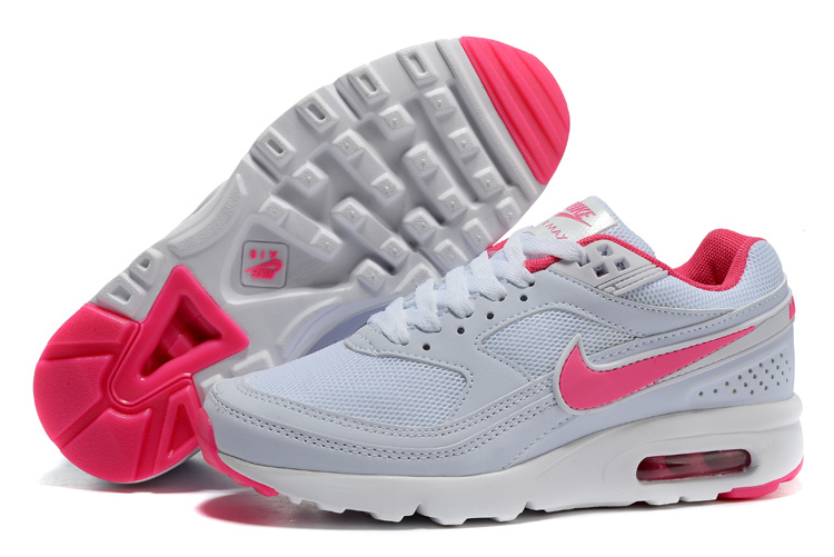 Women 2016 Nike Air Max 85 White Pink Shoes