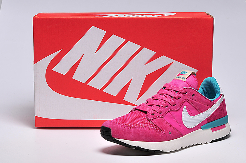 Women Nike 2015 Archive Red Green White Shoes