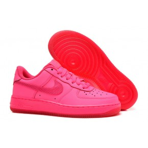Women Nike Air Force 1 Low All Pink Shoes