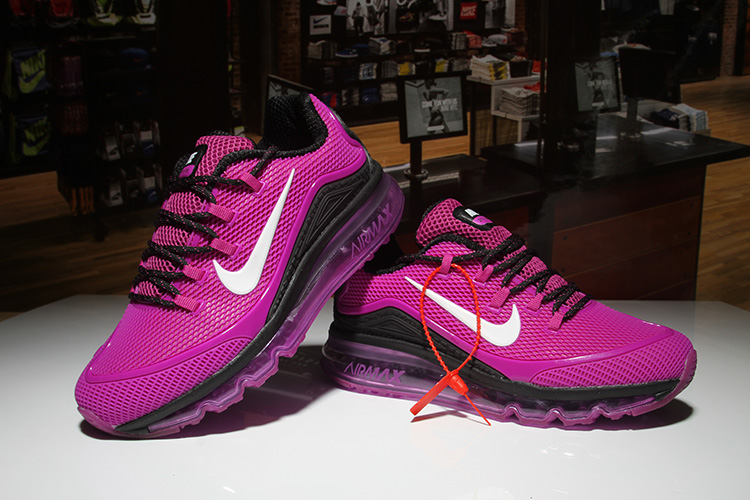 Women Nike Air Max 2018 Elite Purple Black Shoes