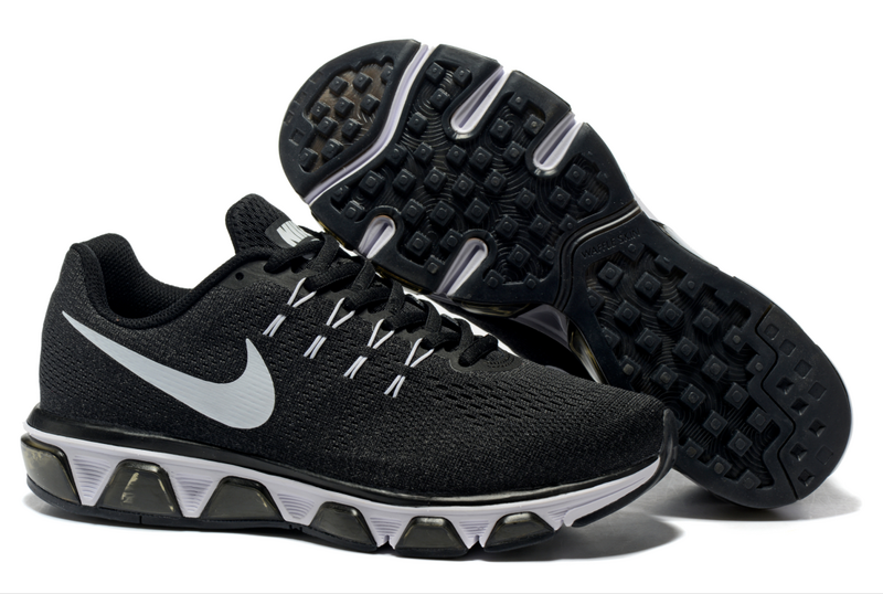 Women Nike Air Max Tailwind 8 Black White Shoes
