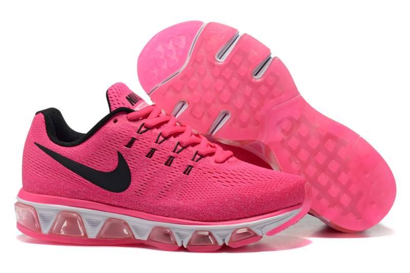 Women Nike Air Max Tailwind 8 Pink Black Shoes