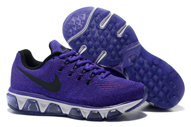 Women Nike Air Max Tailwind 8 Purple Black Shoes