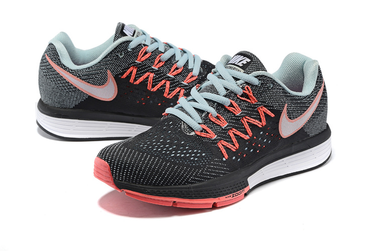Women Nike Air Zoom Vomero 10 Black Red Blue White Shoes
