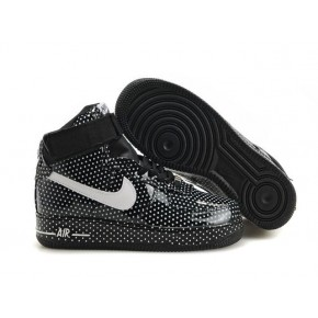 Women Nike Dunk High Black Shoes