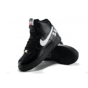 Women Nike Dunk High Black White Shoes