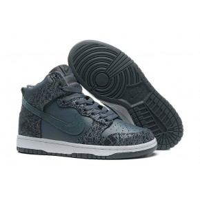 Women Nike Dunk High SB Black Shoes
