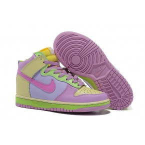 big sale 8bf4d 12f38 ... purchase women nike dunk high sb light purple green shoes 1a135 c2558