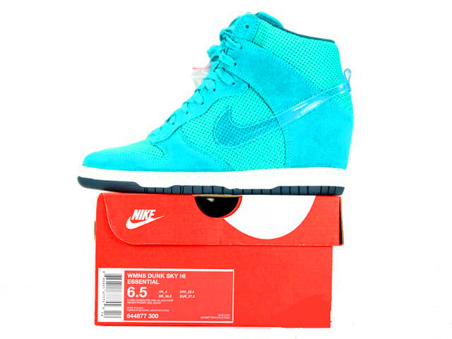 Women Nike Dunk SB High Sky Blue Shoes