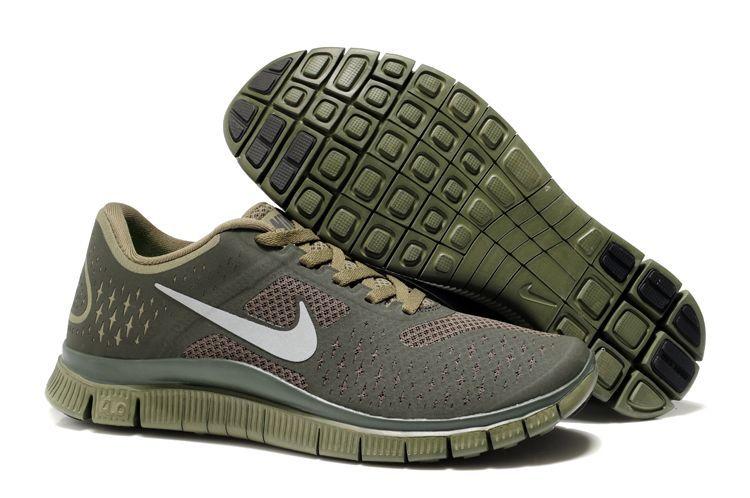 Women Nike Free 4.0 V2 Coffe Running Shoes