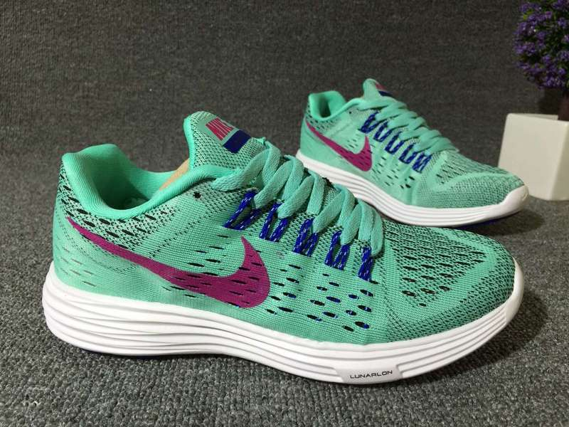 Women Nike Lunartempo 21 Light Green Pink White Shoes