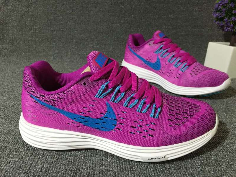 Women Nike Lunartempo 21 Purple Blue White Shoes