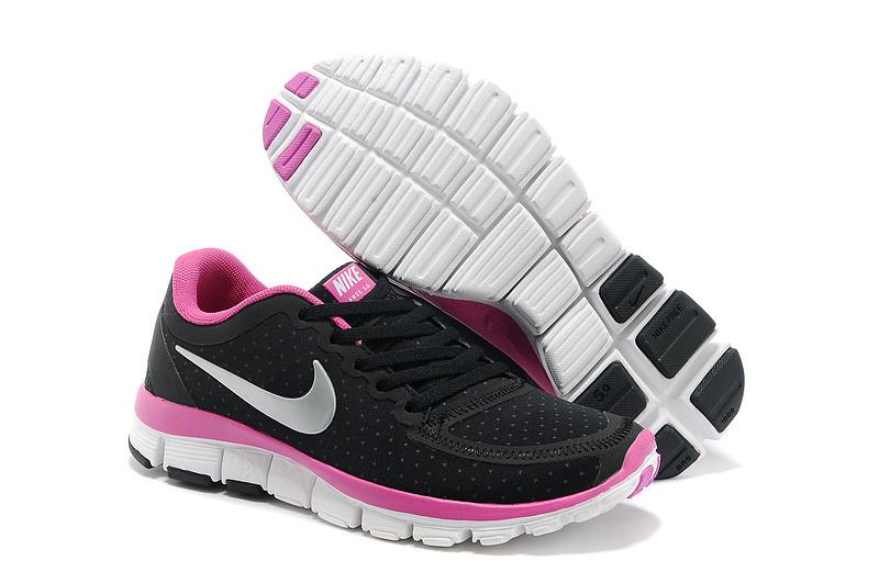 the latest 5a66c cf6da Womens Nike Free 5.0 V4 Black Peach White Shoes