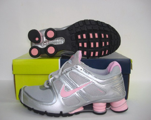 Women Shox Turbo Grey Silver Pink