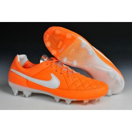 new nike football shoes nike tiempo legend fg cleats orange white