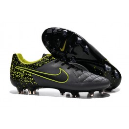 nike football cleats for men tiempo legend fg anthracite black volt