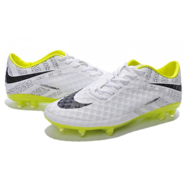 nike hypervenom phantom fg football cleats for men reflective pack white yellow black