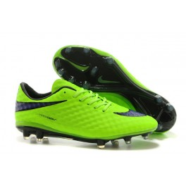 nike hypervenom phantom fg mens football boots soccer cleats firm ground green white