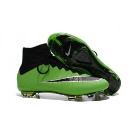 nike mercurial superfly fg soccer cleats shoes green black