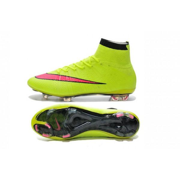new arrivals 3a15f e15db nike mercurial superfly fg soccer cleats shoes volt hyper pink black